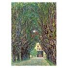 Gustav Klimt - Weg im Park von Schloss Kammer