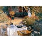Claude Monet - das Mittagsmahl