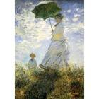 Claude Monet - der Spaziergang, Frau mit Sonnenschirm