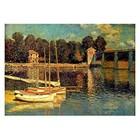Claude Monet - Brücke von Argenteuil