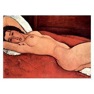 Amadeo Modigliani - Liegender Akt
