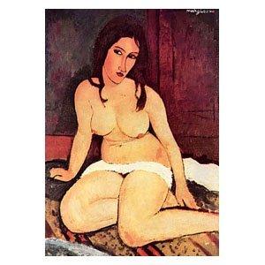 Amadeo Modigliani - Sitzender Akt
