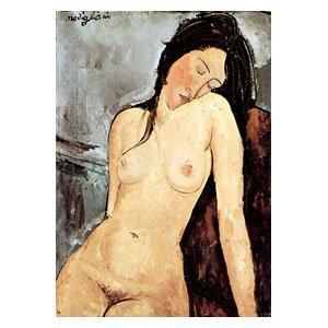 Amadeo Modigliani - sitzender weiblicher Akt