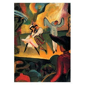 August Macke - Russisches Ballett (I)