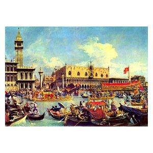 Canaletto - der Bucentaur vor dem Dogenpalast
