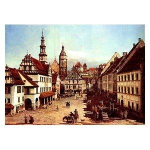 Canaletto - der Marktplatz von Pirna