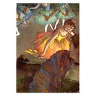 Edgar Degas - Ballett, von einer Loge aus gesehen