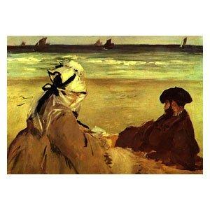 Edouard Manet - Am Strand