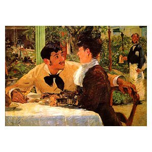 Edouard Manet - beim Vater Lathuille