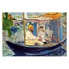 Edouard Manet - Claude Monet in seinem Atelier