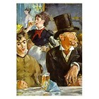 Kunstpuzzle -Edouard Manet - im Café - concert