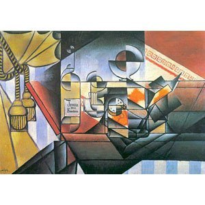 Juan Gris - clock and bottle