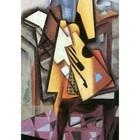 Juan Gris - guitar and stool