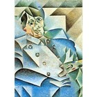Juan Gris - homage to Pablo Picasso