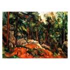 Paul Cezanne - im Wald