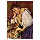 Paul Cezanne - italienisches Mädchen