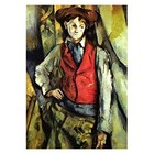 Paul Cezanne - Knabe mit roter Weste
