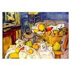 Paul Cezanne - Stilleben mit Früchtekorb