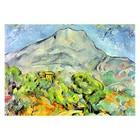 Paul Cezanne - Strasse an der Montagne Sainte-Victoire