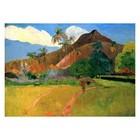 Paul Gauguin - Berge auf Tahiti
