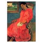 Paul Gauguin - Frau im roten Kleid