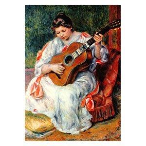 Pierre August Renoir - Gitarrespielerin