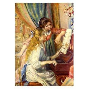 Pierre August Renoir - zwei Mädchen am Klavier