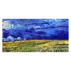 Vincent van Gogh - Feld unter Sturmhimmel