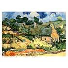 Vincent van Gogh - Hütten in Cordeville