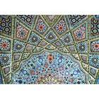 Decke in der Nasr ol Molkl Moschee in Shiraz