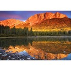 HDR Photografie-Mount Yamnuska