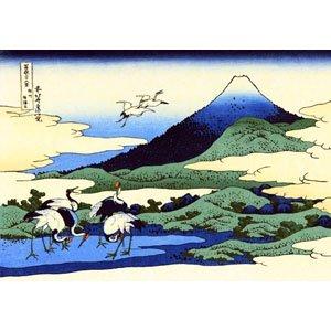 Hokusai, Katsushika - Umegawa om Sagamoprovince