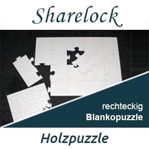 Blankopuzzle rechteckig 20x30cm