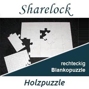 Blankopuzzle rechteckig 30x40cm