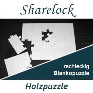 Blankopuzzle rechteckig 40x60cm