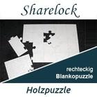 Blankopuzzle rechteckig 80x120cm