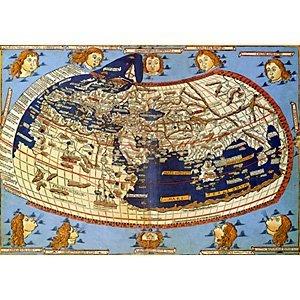 Landkarten_claudius ptolomäus the world