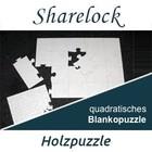 Blankopuzzle quadratisch