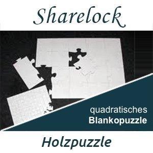 Blankopuzzle quadratisch 40x40cm