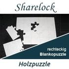 Blankopuzzle rechteckig