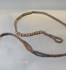 Armband zilver Double Wrap
