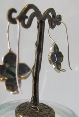 Earring silver turquoise