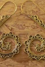Earring brass