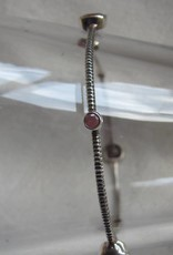 Bangle silver ruby