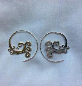 Earring curly wurly