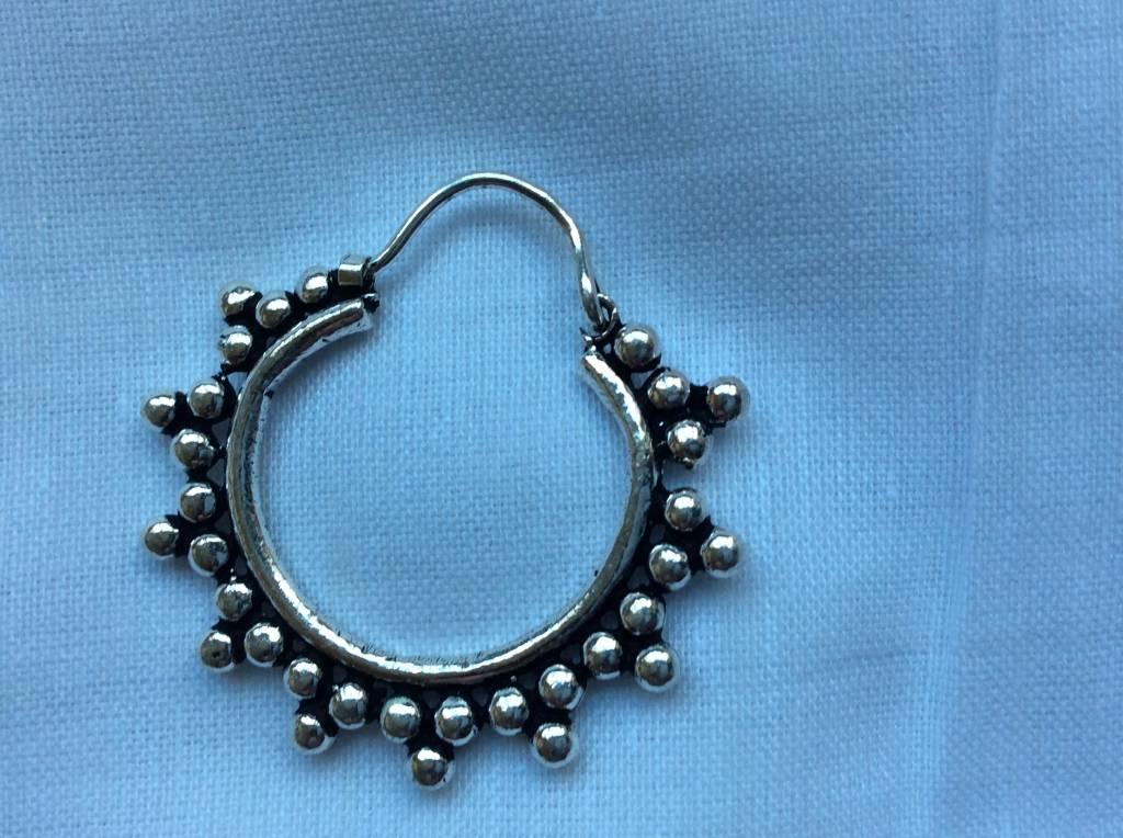 Earring silvery bohemian gypsy