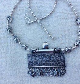 India sieraden, halsketting amulet