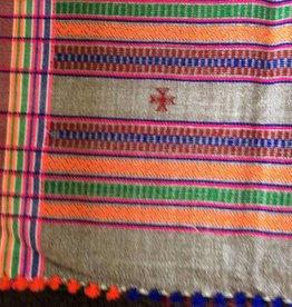 Sjaal handgeweven winter wol