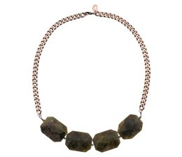 GREEN ROOTS necklace