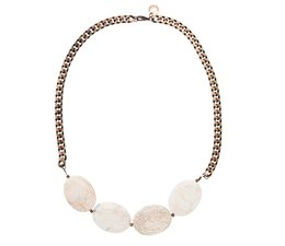 WHITE ROOTS necklace